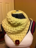 Twisted Stitch Cowl by Cheryl